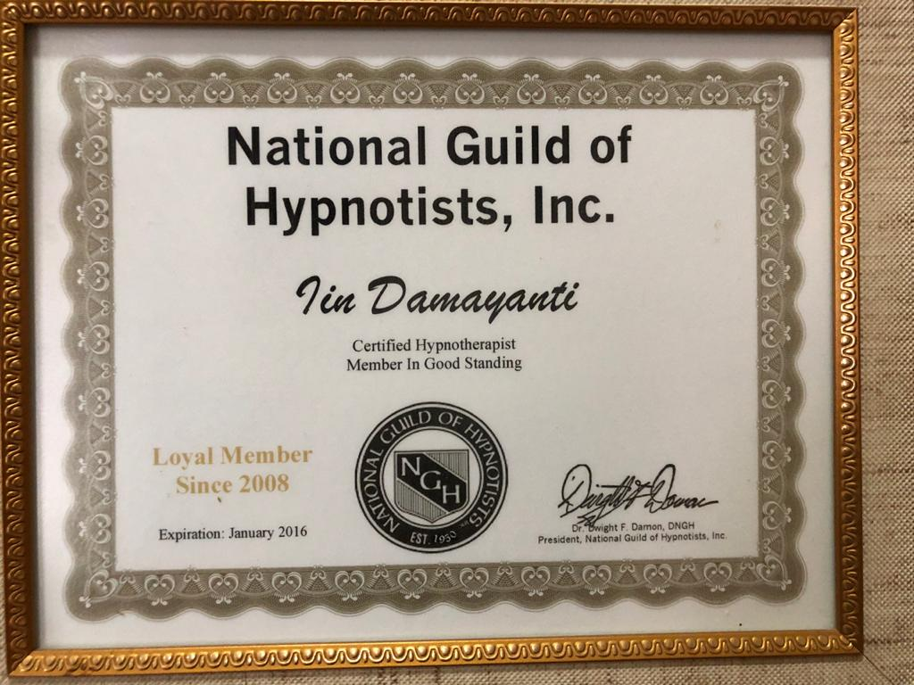 National Guild Hypnotist CH