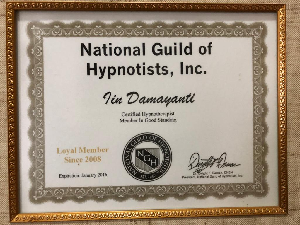 National Guild Hypnotist CHT